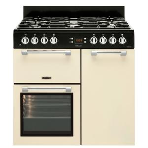 Leisure CK90F232C Cookmaster Dual Fuel Range Cooker Cream 90cm