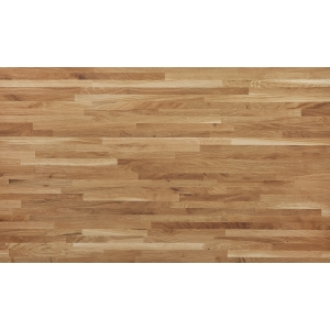 Solid Narrow Stave Rustic Oak Worktop Oiled 3000 x 620 x 26mm