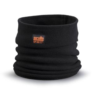 Scruffs T54307 Fleece Neck Warmer Black