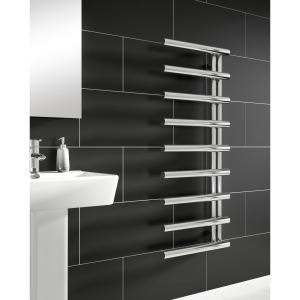 iflo Socorro Designer Towel Radiator Chrome 500mm