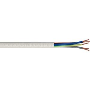 Doncaster Cables 5 Core Heat Resistant Flex Cable 3095Y 0.75mm2 x 50m Drum