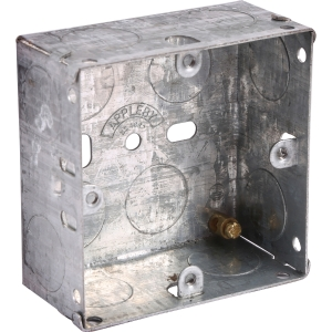 Appleby Metal Box 1 Gang 35mm Each