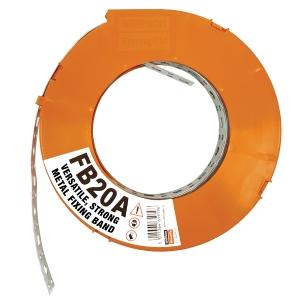Fixing Band 20mm Plastic 10m Roll