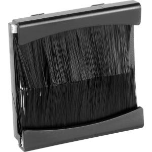 Euro Module Brush Module Black 2 Mod Single Plate