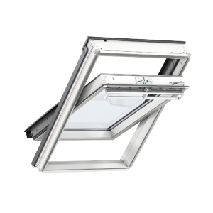 Velux CENTRE-PIVOT Roof Window 660 x 978mm White Painted Ggl FK04 2070