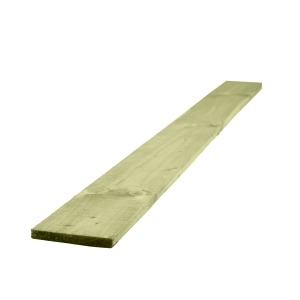 Gravel Board Treated Green 22mm x 150mm x 3000mm