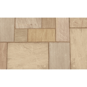 Marshalls Indian Sandstone Project Pack Brown Multi 20.93m2