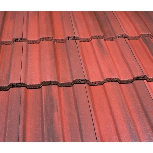 Marley Ludlow Major Roofing Tile Old English Dark Red - Pallet of 216