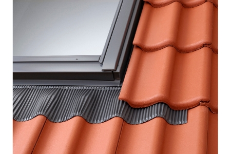 Velux Standard Tile Flashing Including Bdx Insulation Collar to Suit FK06 Roof Window 660 x 1178mm