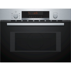 Bosch Serie 4 Integrated Compact Oven & Microwave Stainless Steel - CMA583MS0B