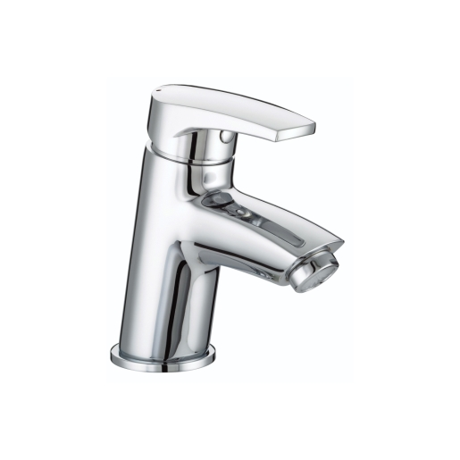 Bristan Orta Basin Mixer With Clicker Waste Chrome
