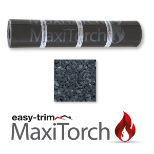 Easy Trim Maxi Torch Applied Black 1m X 8m