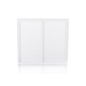 Rytons Building Products Ltd '9 x 9' Louvre Ventilator with Flyscreen - White