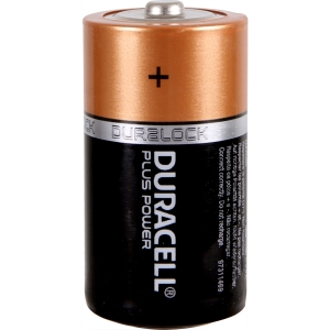 Duracell Plus Power Battery C 2 Pack