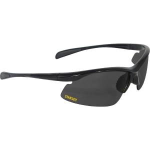 Stanley 10-BASE Curved HALF-FRAME Safety Glasses Smoke