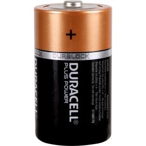 Duracell Plus Power Battery D 4 Pack