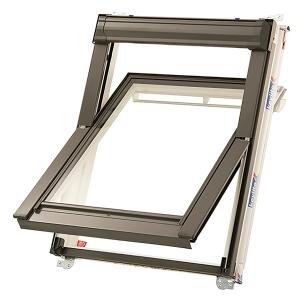 Keylite PVC Centre Pivot Hi Therm Roof Window 660 x 1180mm