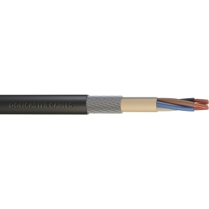 Doncaster Cables Swa Armoured Cable 2.5mm2 x 4 Core x 50m Drum