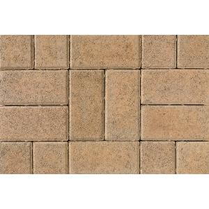 Tobermore Pedesta Decorative Block Paving in Golden - 200x100x50mm