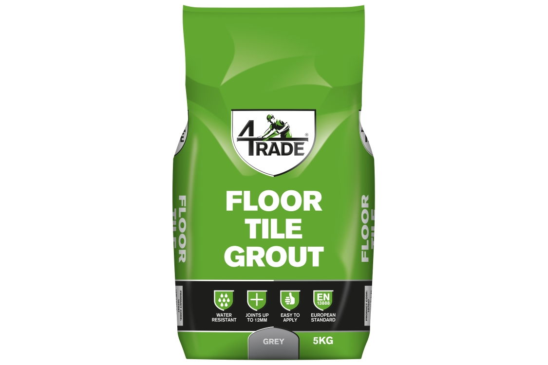 4Trade Floor Tile Grout Grey 5kg