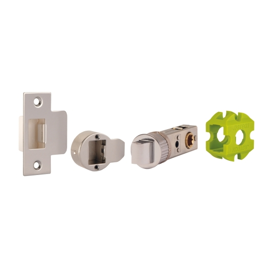 Jigtech JTL4021 Smart Standard Passage Latch 45mm Backset Polished Chrome
