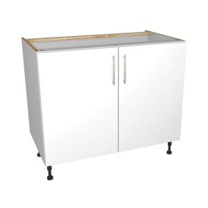 Self Assembly Kitchens Orlando White 1000 Highline Base