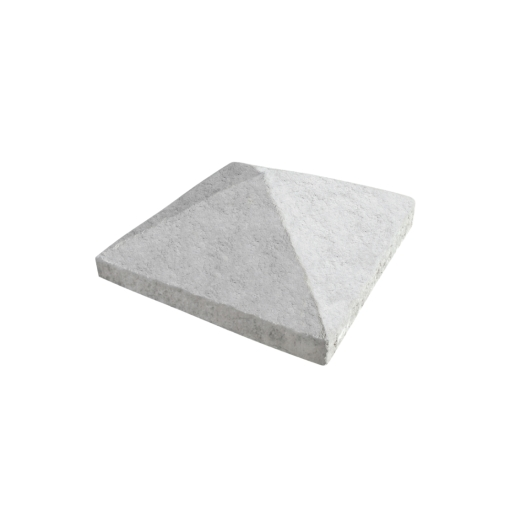 Marshalls Precast 4 Way Pillar Cap Off White 380mm x 380mm x 76/32mm - Pack of 24