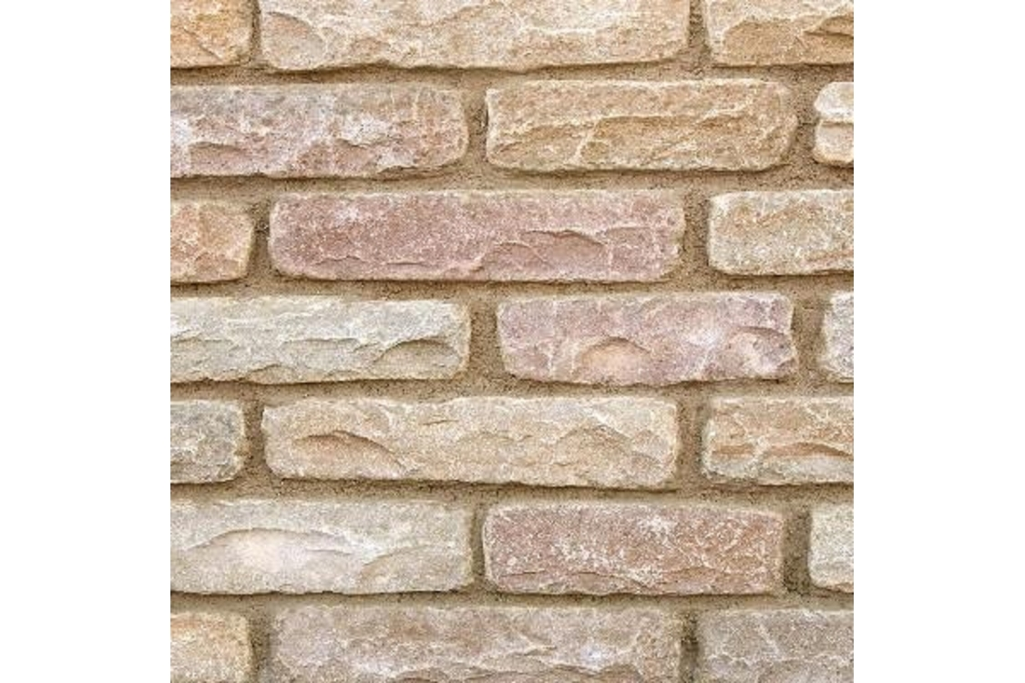 Marshalls Fairstone Tumbled Autumn Bronze Walling 300mm x 65mm x 100mm