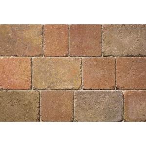 Bradstone Woburn Rumbled Concrete Block Paving Autumn 200mm x 134mm x 50mm