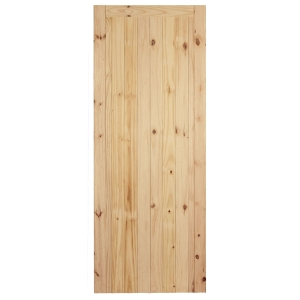 External Softwood FLB Redwood Framed Ledged & Braced Door