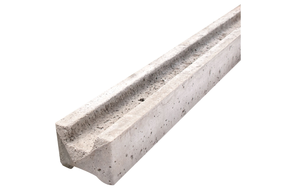 Supreme Concrete Intermediate Slotted Fence Post 109mm x 94mm x 1830mm SLT183I