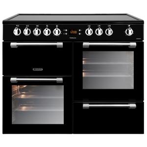 Leisure CK100C210K Cookmaster Electric Range Cooker Black 100cm