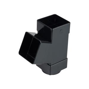 Osma SquareLine 4T835 Pipe Branch 67.5° 61mm Black