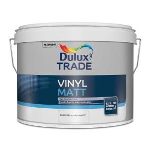 Dulux Trade Vinyl Matt Pbw 7.5L