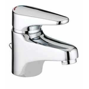 Bristan JU BAS C Jute Basin Mixer & Pop Up Waste Chrome
