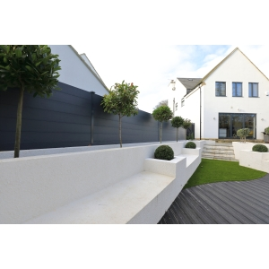 Durapost Composite Fencing Board Anthracite Grey 150mm x 1830mm