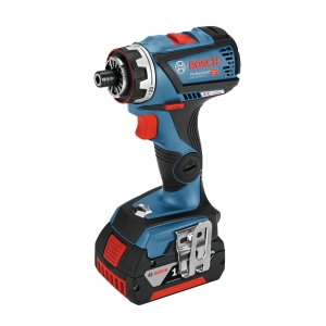 Bosch Gsr 18V-60 Flexiclick Drill Driver + GFA18m Chuck + Lboxx Bare Tool with L-BOXX