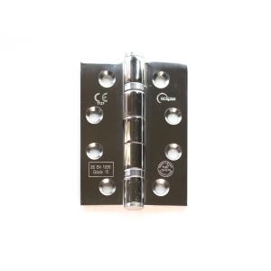 Eclipse 14974 Mild Steel Ball Bearing Hinge Grade 13 Polished Chrome 102 x 76 x 2.7mm 2 Pack
