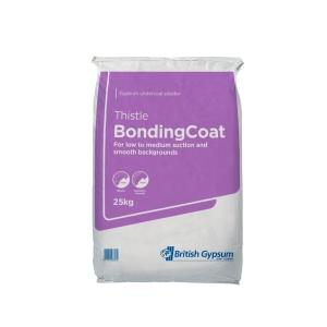 British Gypsum Thistle BondingCoat Plaster 25kg
