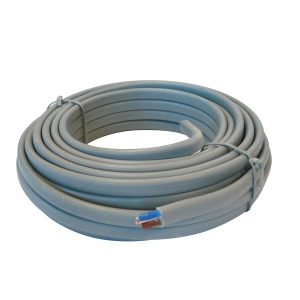 4TRADE 6242YH 2.5mm Twin & Earth Cable Grey 10m