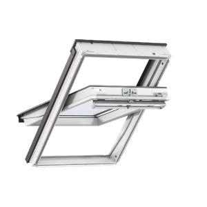 Velux CENTRE-PIVOT Roof Window 660 x 978mm White Polyurethane Ggu FK04 0070