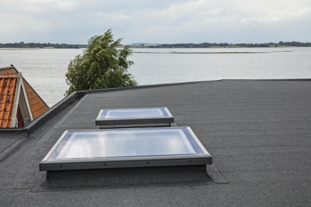 VELUX Flat Roof Flat Glass Cover 900mm x 1200mm