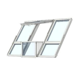 Velux CABRIO® Balcony Triple Gdl PK19 SK0L322 for Slate 3026W