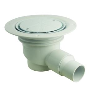 McAlpine TSG1WH Shower Gully 50mm x 130mm
