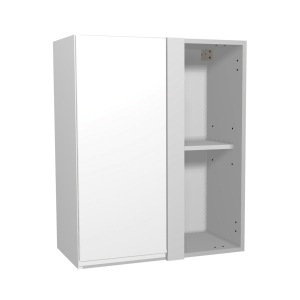 Madison Gloss White 600mm Corner Wall Unit