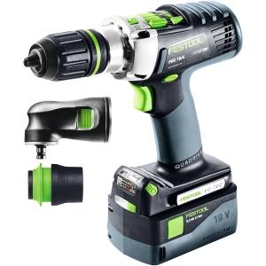 Festool 576471 Pdc 18/4 5.2-SET Sca Cordless Hammer Drill