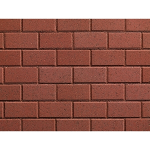Plaspave 50 Concrete Block Paving Red 200 x 100 x 50mm