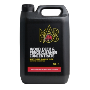 Mad Hog Wood Deck & Fence Cleaner Concentrated 5L