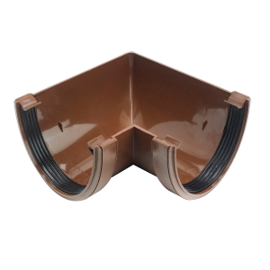 Osma DeepLine 9T903 Gutter Angle 90° 113mm Brown