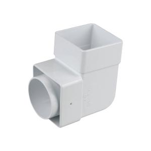 Osma SquareLine 4T862 Pipe Bend 87.5° 61mm White